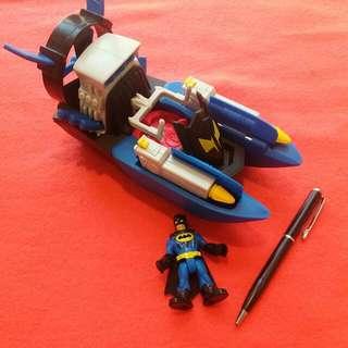 Imaginext Batman Hero Batboat Toy Chase