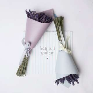 Dried Flower Bouquet / lavender bouquet
