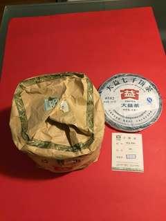 2012 年大益普洱生茶(8582)