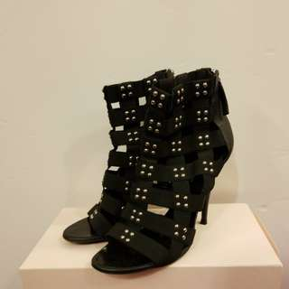 Giuseppe Balmain 38.5 elastic studs high heels