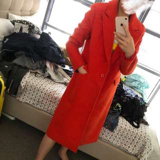 NEW C/MEO orange coat