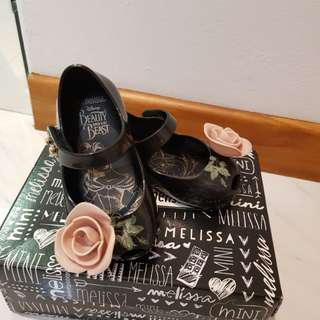 Limited Editio Beauty & the Beast Mini Melissa Shoes