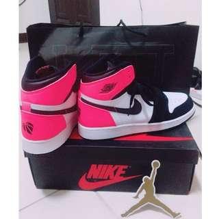🚚 2017情人節限定款 Air Jordan 1 GS喬丹一代經典籃球鞋