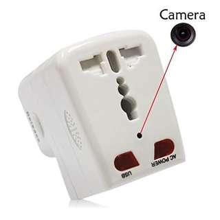 Spy Camera Motion Detection Plug