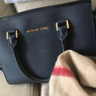 Michael Kors - Selma Medium Saffiano leather Satchel