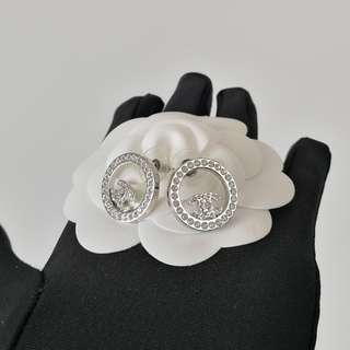 Authentic Chanel Round Earrings