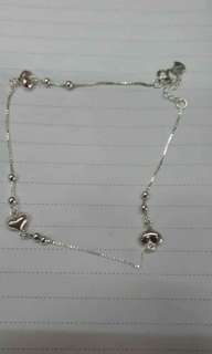 92.5 Italy Silver Anklets