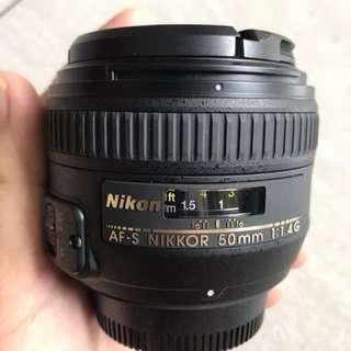 Nikon 50mm F1.4G