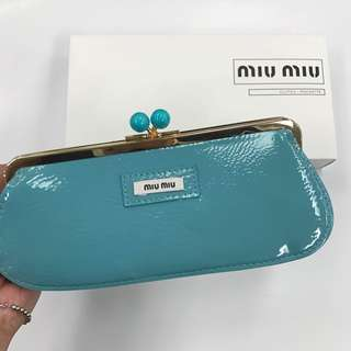 Miu Miu clutch bag 啪啪鈕小袋