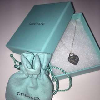 Tiffany & Co.Heart Pendant Necklace