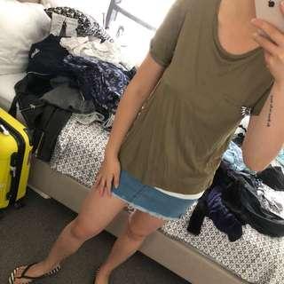 New ZARA unique tshirt