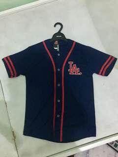 LA Navy/Red Softball Baseball Jersey