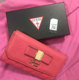 Dompet Guess Pink