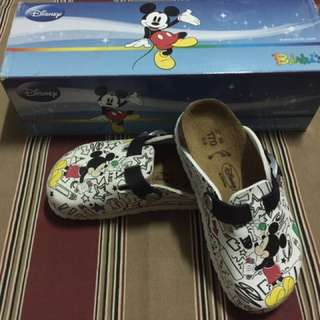 Birkenstock limited edition mickey mouse clogs