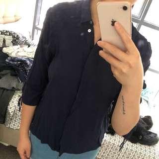 ZARA soft silk shirt