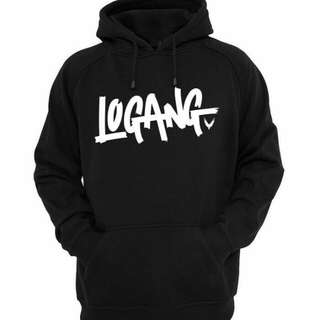 Jaket hoodie logang