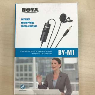 Portable Microphone for presentation and video recording