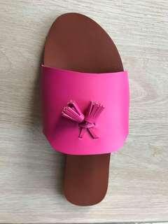 Summer tassle sandals