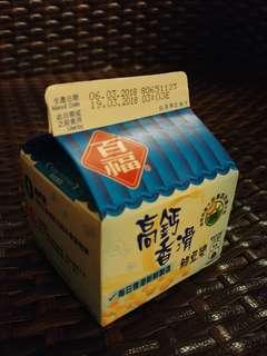 未開封百福高鈣香滑新豆漿