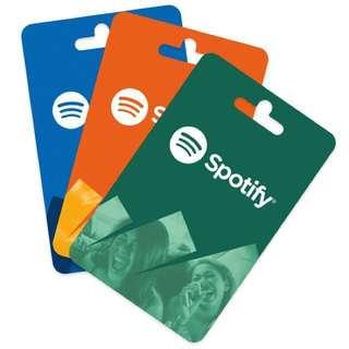 Spotify Premium Cards CHEAP!