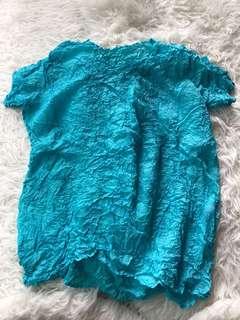 Issey miyake Aqua Blue Top