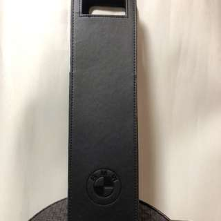 BMW 酒袋(外:人造皮+內:黑絲絨)