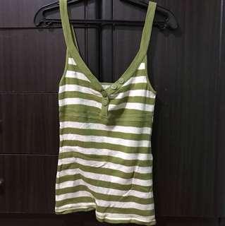 Green stripes sando