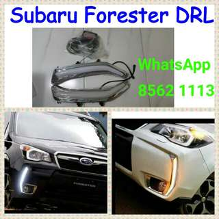 Subaru Forester DRL with turn signal