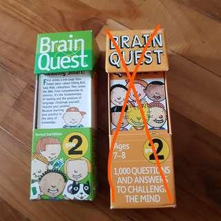 Brain Quest (7-8 Grade 1/2)