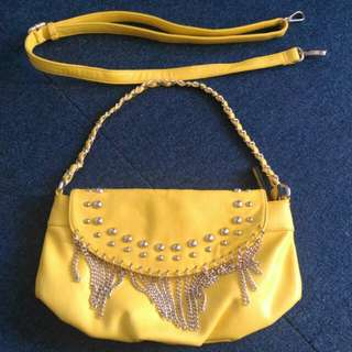 Yellow Sling/Shoulder Bag