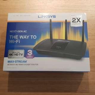 Linksys Max-stream AC1900+ Mu-mino Gigabit Router