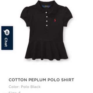 Ralph Lauren peplum top