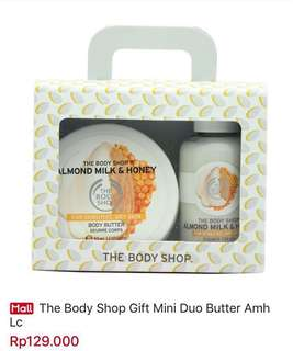 THE BODY SHOP GIFT CUBE