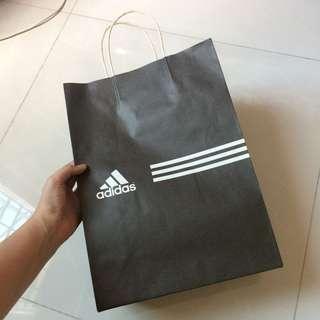 classic Adidas Paper Bag