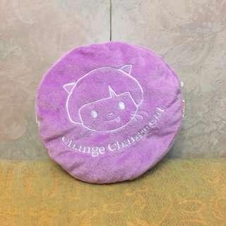 淺紫色馬卡龍斜揹袋