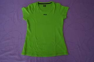 Fila green gym shirt