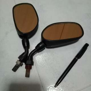 Motorcycle side mirrors