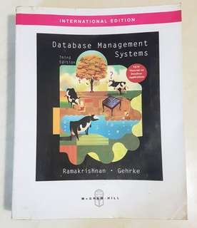 Database Management Systems Third Edition McGraw Hill Ramakrishnan Gehrke