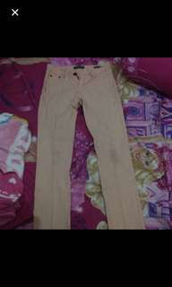 Jeans peach point one