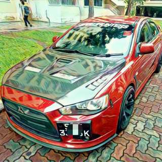 Mitsubishi Lancer GT 2.0 For Rent