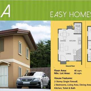 FOR SALE HOUSE AND LOT @ CAMELLA HOMES