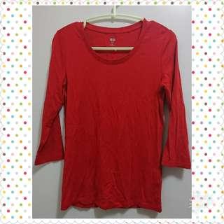 紅色衫  m size (包平郵)