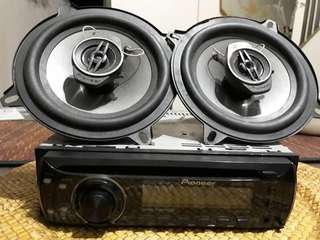 Pioneer Stereo W/Speakers