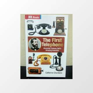 Buku Import The First Telephone - Catherine Chambers / Bekas