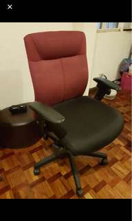 OFFICE CHAIR with RECLINE & HEIGHT ADJUSTMENT