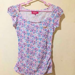 Candie's Floral Top