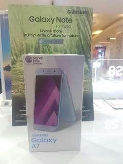 Samsung galaxy A 7 2017 dijual credit