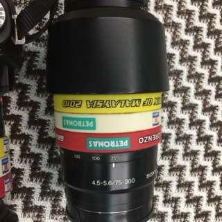 Sony Lens 75 - 300