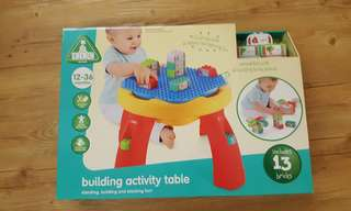 Unopened Early Learning Centre Builder Activity Table