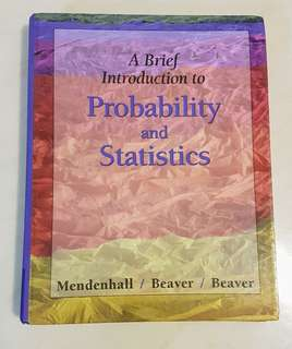 A brief introduction to Probability and Statistics Mendenhall Beaver